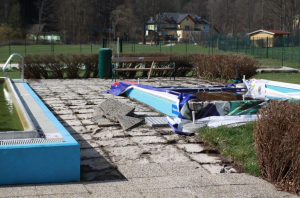Freibad Gutenstein wird renoviert für den Saisonstart 2016